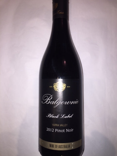 Balgownie Pinot Noir 2012 Yarra Valley