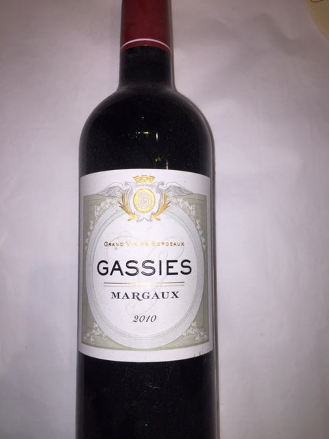 Gassies 2010 Margaux