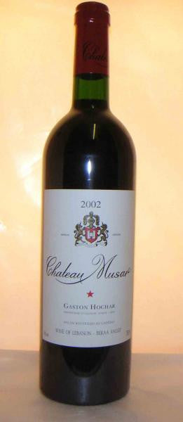 Chateau MUSA,r 2002 Bekaa Valley