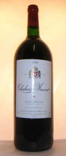 Chateau MUSA,r 1995 (magnum) Bekaa Valley
