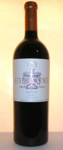 Benegas Lynch 2004 Libertad Vineyards, Mendoza,