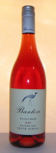 Barton Rose Shiraz 2011 Walker Bay, S Africa
