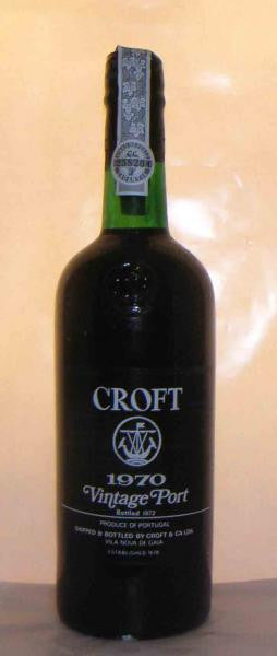Croft 1970 Vintage Port