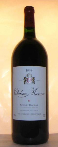 Chateau MUSA,r 1998 (magnum) Bekaa Valley