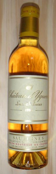Chateau d'Yquem 1989 Half bottle