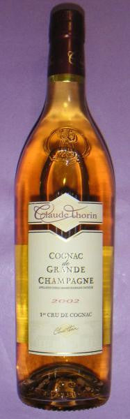 Cognac Grand Champagne, 2002 Claude Thorin