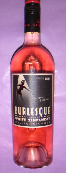 Burlesque Zinfandel Rose 2014 California