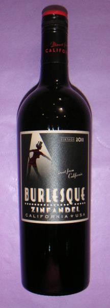 Zinfandel 2012 Burlesque California