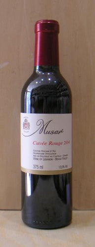 MUSA,r Cuvee Rouge 2004 (half bottle)