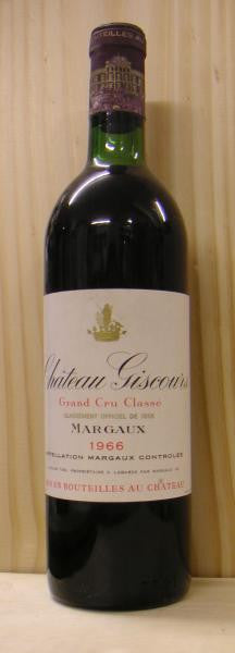 Chateau Giscours 1966 Margaux