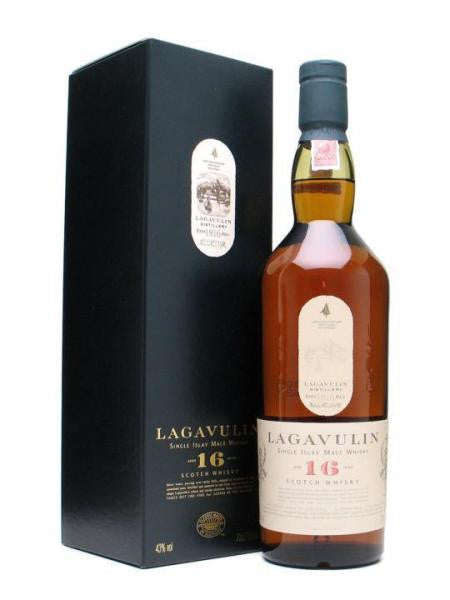 Lagavulin 16 YO single Scotch whisky