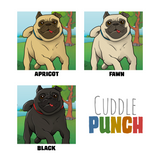 A Personalised Pug Print - cuddlepunch.me