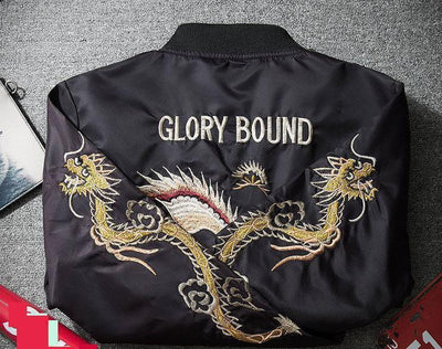 Jackets - MA-1 Glory Bound Eagle Souvenir Jacket