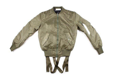 Jackets - Strapped Up Bomber Jacket