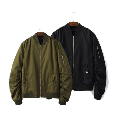 Jackets - Unisex Bomber Jacket - Longline Clothing