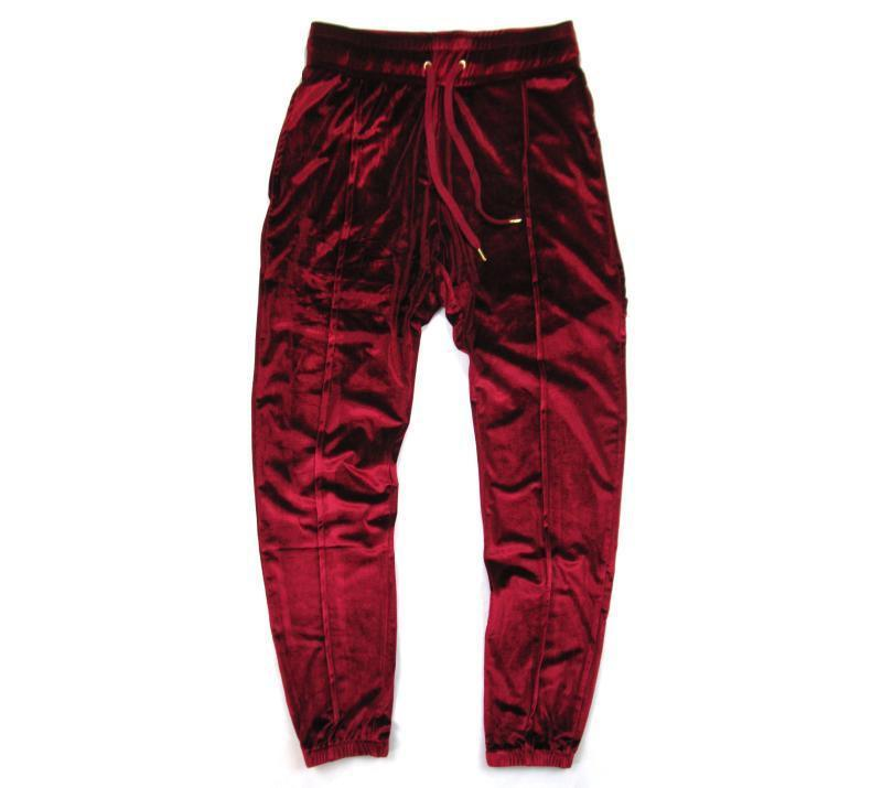 1a50bd0f4e29 Luxe Velour Track Pants - Longline Clothing