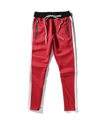 Pants - Side-Stripe Sweatpants