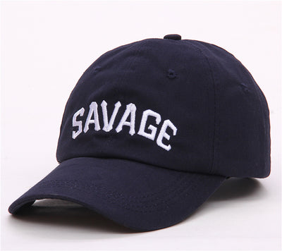 Savage Embroidered Premium Strapback Cap