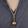 Hammer Pendant Necklace