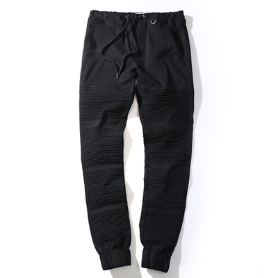 Skinny Fit Cuffed Ankle Pants
