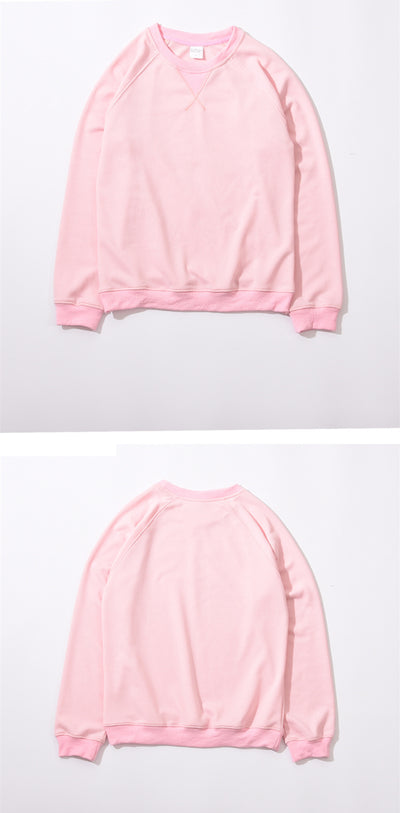 Terry Knit Crewneck Sweatshirt
