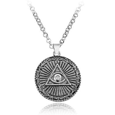 Illuminati Medallion Necklace