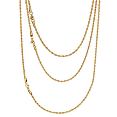 Premium Gold Rapper Chain