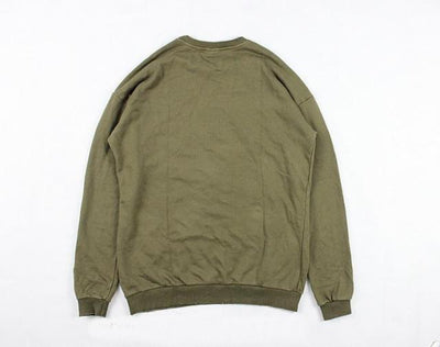 Sweatshirt - Premium Distressed Sweatshirt - Longline Clothing