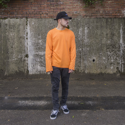 T-Shirts - Longline Extended Sleeve T-Shirt
