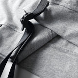 T-Shirts - Premium Buckle Strap T-Shirt With Zip Multi-Pocket - Longline Clothing