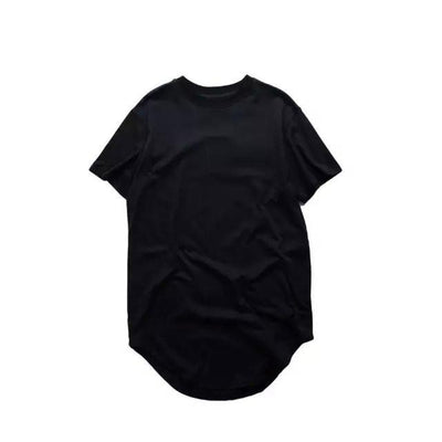 T-Shirts - Premium Curved Hem T-Shirt In Black