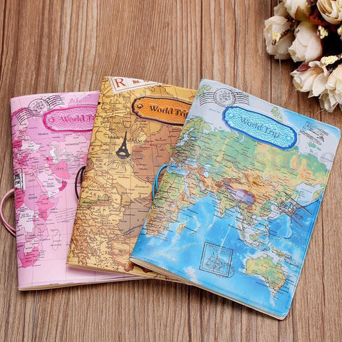 3D World Embossed Passport Holders