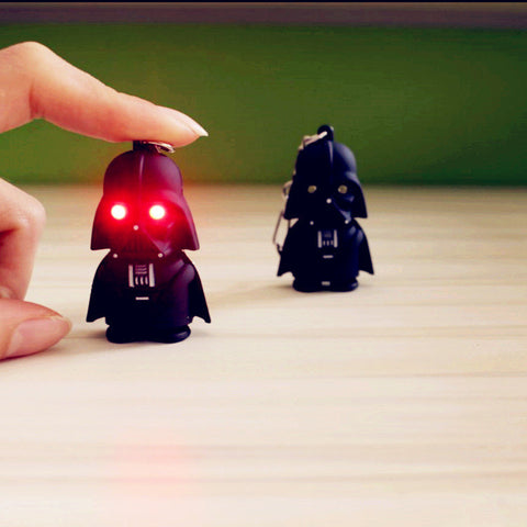 Darth Vader Keychain Flashlight