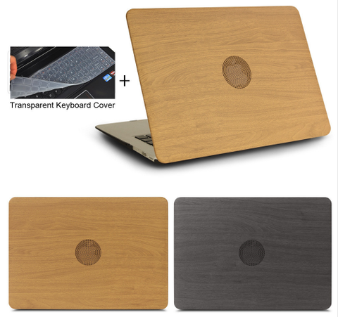 Apple Macbook Wood Grain Cover