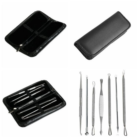 Ultimate Blackhead and Comedone Acne Removal Kit (7pcs)