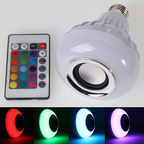 Bluetooth LED Speaker Bulb