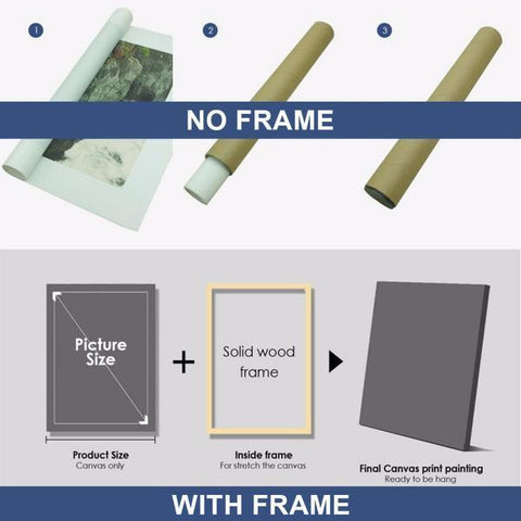 5 Piece Canvas - Frame only