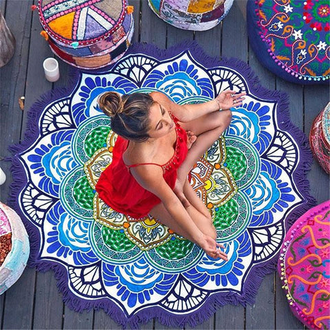 Mandala Home/Beach Mat