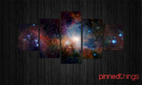 Astronomy 5 Piece Canvas
