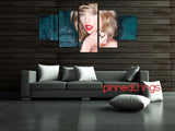 Taylor Swift 5 Piece Canvas