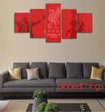 Liverpool FC 5 Piece Canvas
