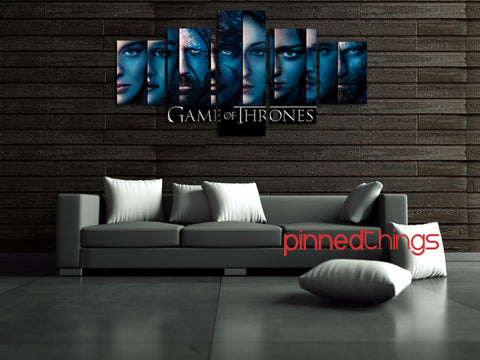 Game of Thrones 5 Piece Canvas