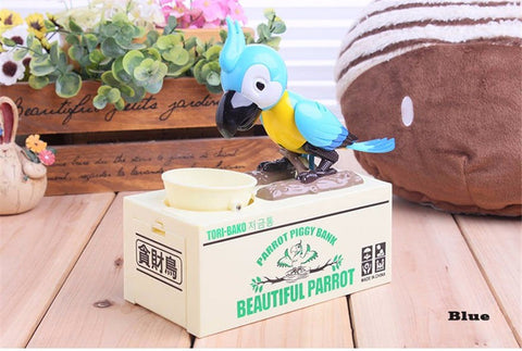 Cutest Parrot Coin Bank