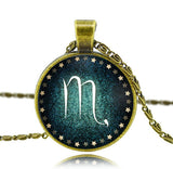 Zodiac Antique Chain Necklace