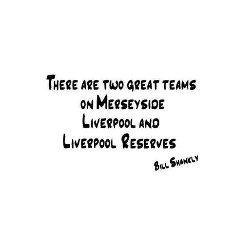 Liverpool Wall Sticker - Shankly Quote