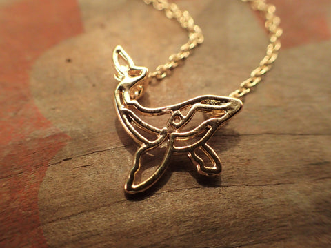 Gold Whale Necklace  Jewellery, buddybeardesign, Buddy Bear Design  - Buddy Bear Design
