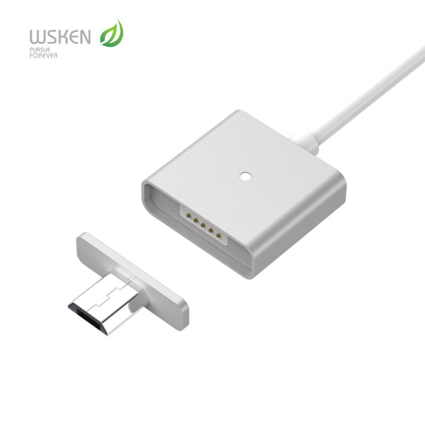 Original WSKEN Magnetic 2A Micro USB cable  Charging  Data Cable For Samsung LG - cool things To buy
