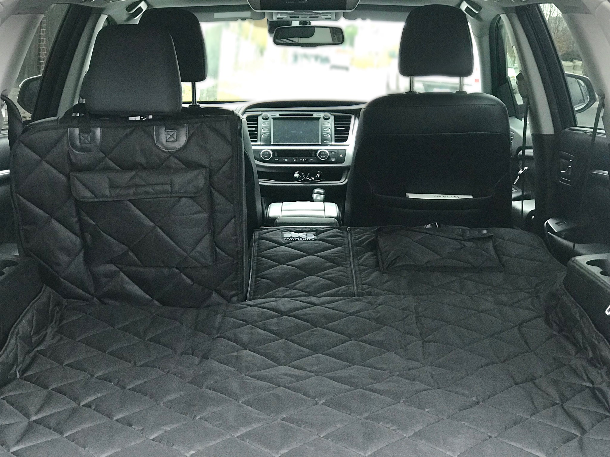 Quilted Pet Dog Boot Liner Protector For Subaru Outback Forester XV All Year