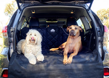 Cargo Liner with dogs in SUV