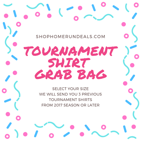 SOFTBALL TOURNAMENT SHIRT GRAB BAG